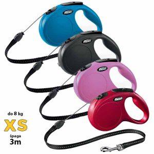flexi-new-classic-vodilica-xs-do-8kg-spaga-3m