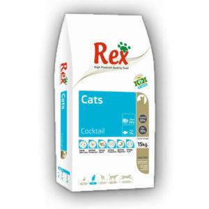 Hrana za mačke Rex Cocktail
