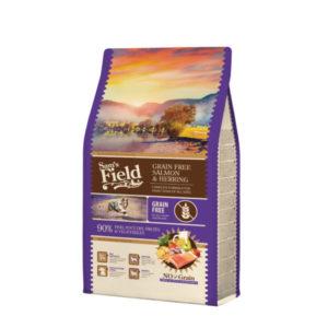 Sam's Field losos i haringa grain free
