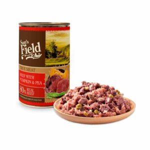 Sam's Field konzerva govedina,bundeva, grašak