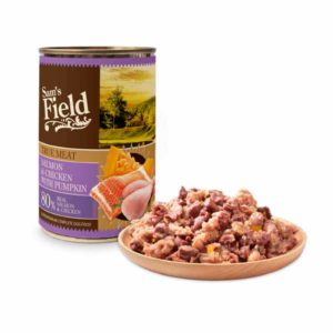 Sam's Field konzerva losos i piletina s bundevom