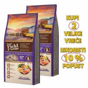 Sams field grain free losos i haringa