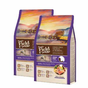 Sam'sfield superpremium suha hrana za psa losos i haringa grain free