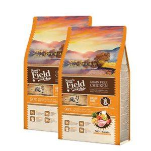 Sam'sfield superpremium suha hrana za psa piletina grain free