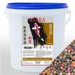 ASAKA Gold Pro 6mm 10L hrana za koi šarane