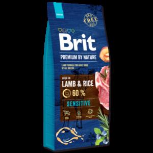 hrana za pse - Brit Premium By Nature Sensitive janjetina bez pšeniceLamb
