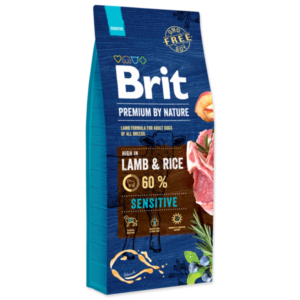 hrana za pse - Brit Premium By Nature Sensitive janjetina bez pšeniceLamb
