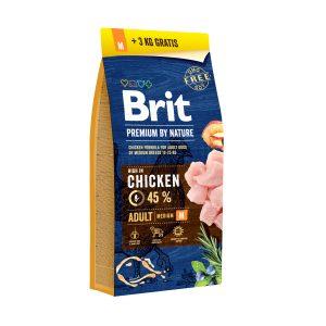 Brit adult M 15+3kg akcija