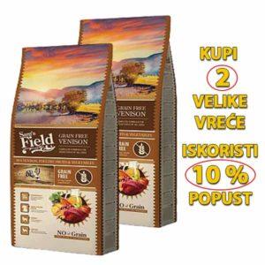 Sams field grain free divljač akcija 2 vrece-