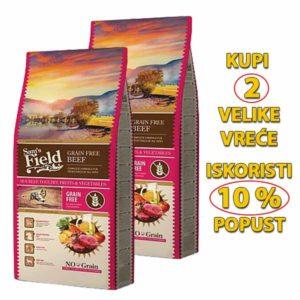 Sams field grain free govedina hrana za pse