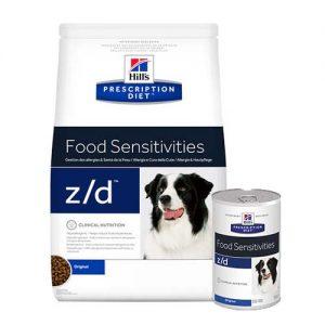 hills_zd_food _sensitivities__prescription_diet__suha i mokra hrana za pse