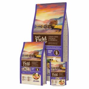 sam's field all size adulti losos i haringa grain free