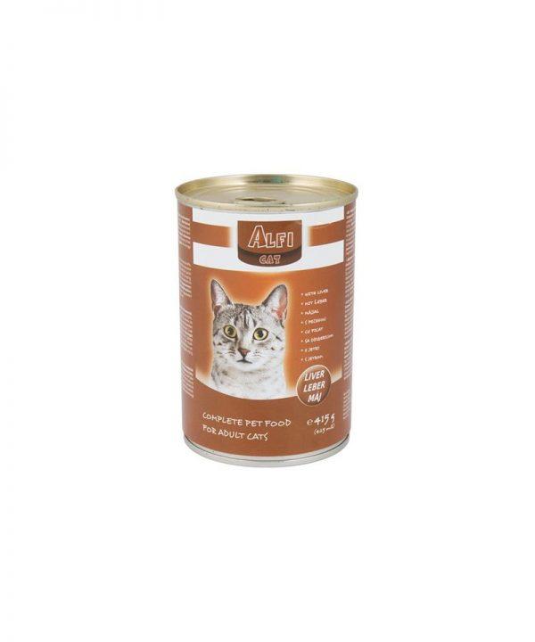 Alfi konzerva za mačke s jetrom