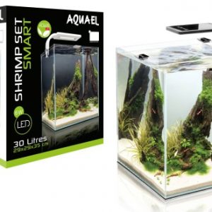 AQUAEL-SHRIMP-SET-SMART-CZARNY-30L-AKvarij