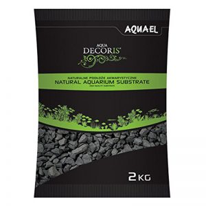 Aquael šljunak za akvarij basalt gravel 2mm-4mm