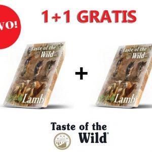 Taste of the wild Janjetina i piletina s voćem i povrćem 390g posudica