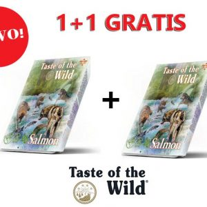 Taste of the Wild Losos i Haringa 390g 1+1 gratis