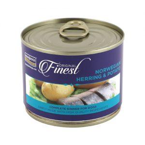 fish4dogs_norveška haringa i krumpir-hrana za pse-konzerva