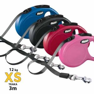 flexi new classic vodilica XS traka 3m do 12 kg