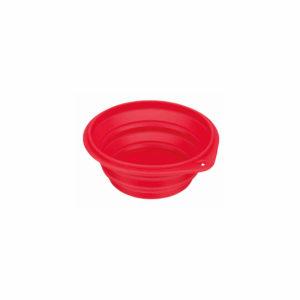 Silikonska putna zdjelica crvena - trixie