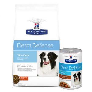 hills_derm_defense__prescription_diet__suha i mokra hrana za pse