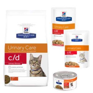 hills cd urinary stress suha i mokra hrana za macke
