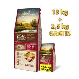 SAM'S FIELD hrana za pse akcija 13+2.5kg