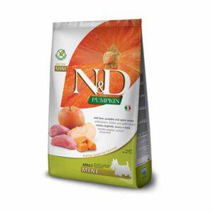 N&D-farmina-pumpkin-divlja-svinja-jabuka-mini-hrana-za-pse