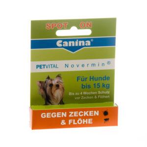 canina spot on za pse do 15 kg
