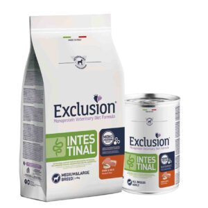 exclusion intestinal svinjetina