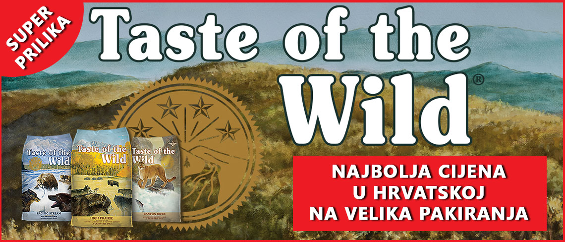 taste of the wild akcija hrane za pse