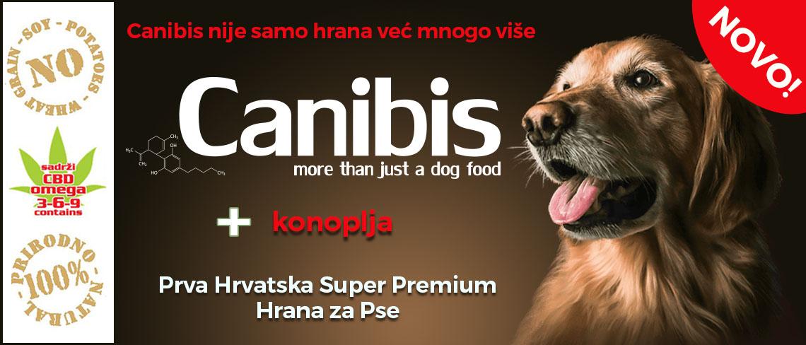 Canibis hrvatska hrana za pse