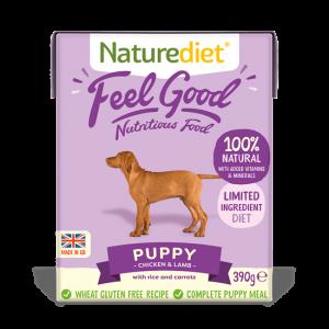 naturadiet feel good puppy