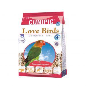 hrana za agapornice i nimfe Love Birds cunipic