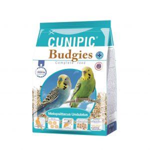 hrana za male papige - tigrice Budgies cunipic