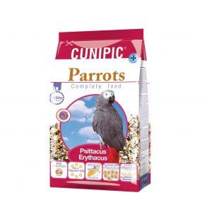 hrana za velike papige parrots cunipic