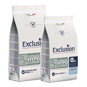 exclusion hypo allergenic